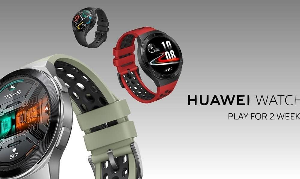 Huawei presents the Watch GT 2e, a sportier adaptation of the GT 2