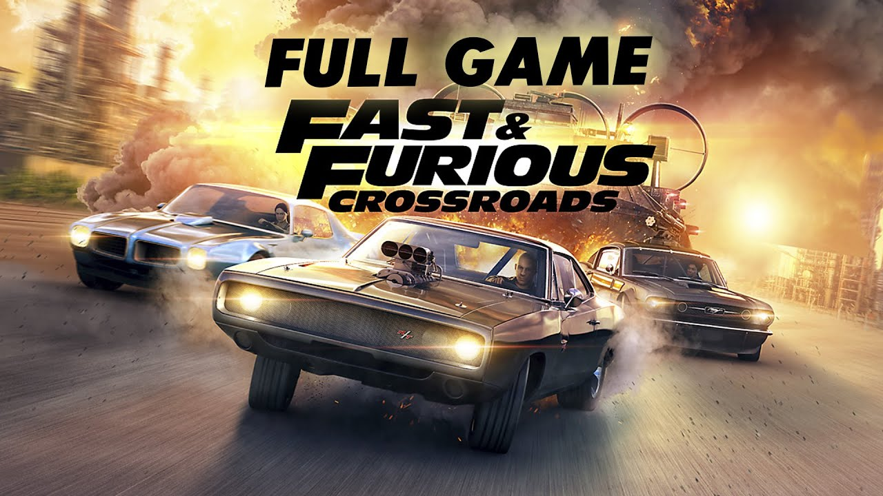 Fast and Furious Crossroads Apk Android Mobile Game Full Version Free Download