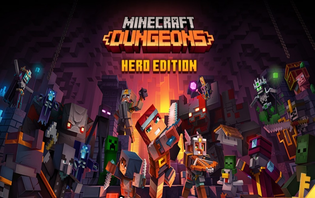 Minecraft Dungeons Hero Edition iOS iPhone Mobile Version Full Free Game Download