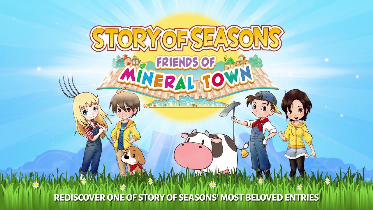 Story of Seasons Friends of Mineral Town Apk Android Mobile Version Full Free Game Download