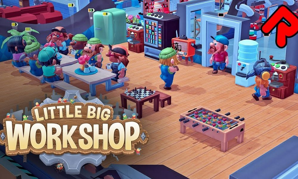 Little Big Workshop PC Full Version Game Setup Free Download