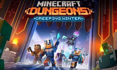 Minecraft Dungeons Creeping Winter DLC PC Full Version Game Setup Free Download