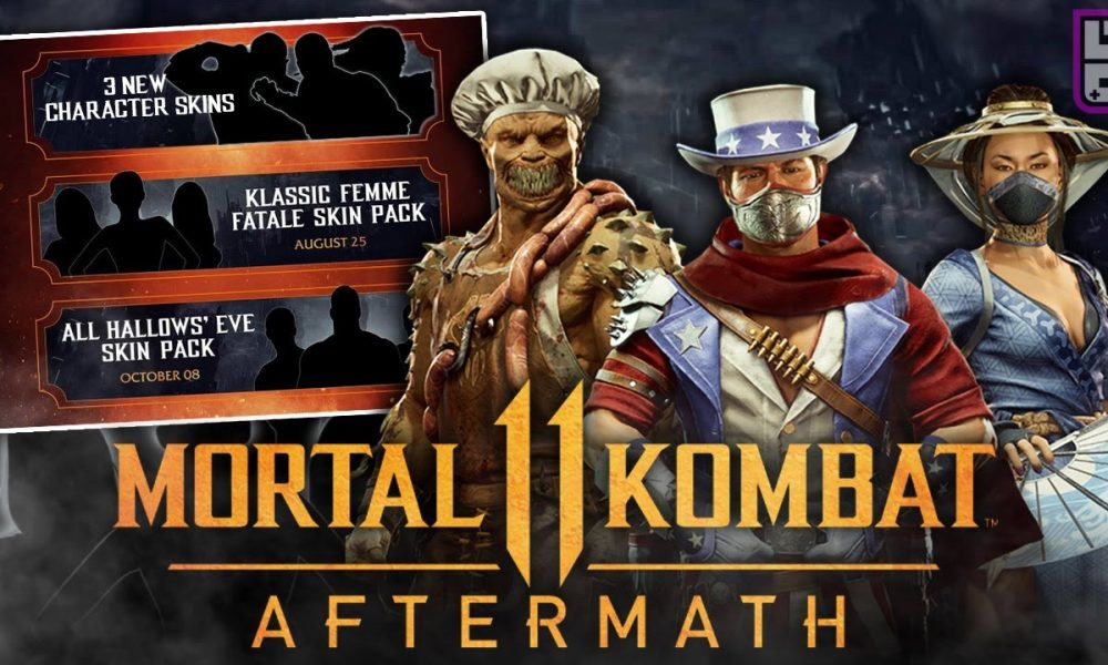Mortal Kombat 11 Aftermath All Hallows' Eve Skin Pack PC Full Version Game Setup Free Download