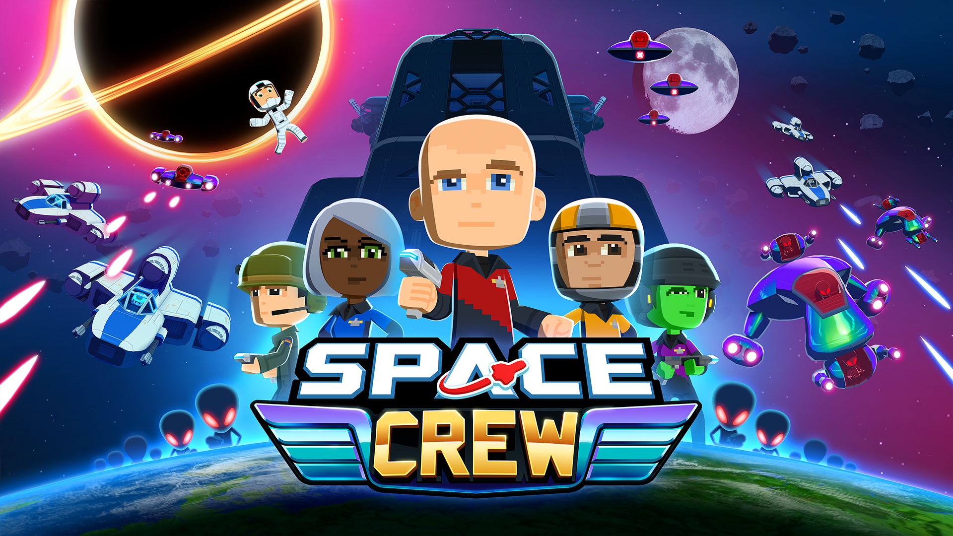 Space Crew PC Full Version Free Game Download